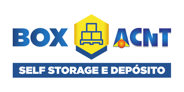 Box ACNT, self storage, Maestria Agência Digital, Clientes, logotipo, logomarca, Marketing Digital, logo